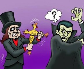 svengoolie and dracula