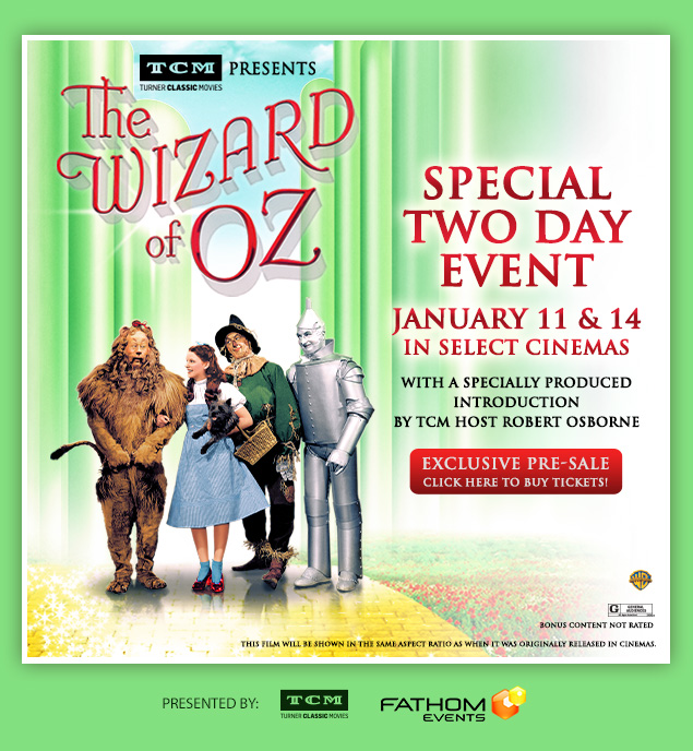 Wizard of Oz screening