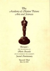 Oscar booklet