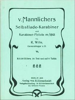 Mannlicher 1901 carbine manual