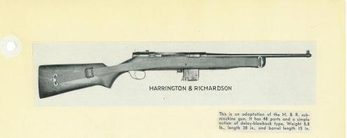 harrington carbine 1