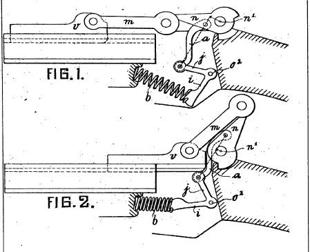 Luger semiauto rifle toggle lock improvement