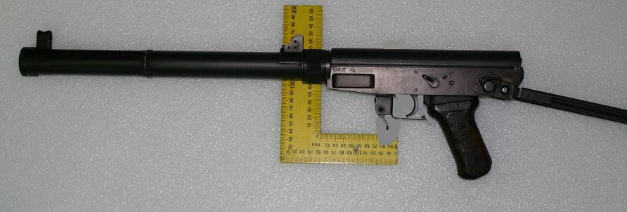 Chinese Type 64 suppressed SMG