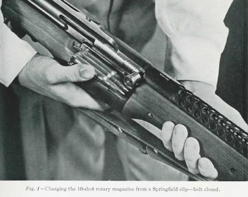 Loading the Johnson rifle