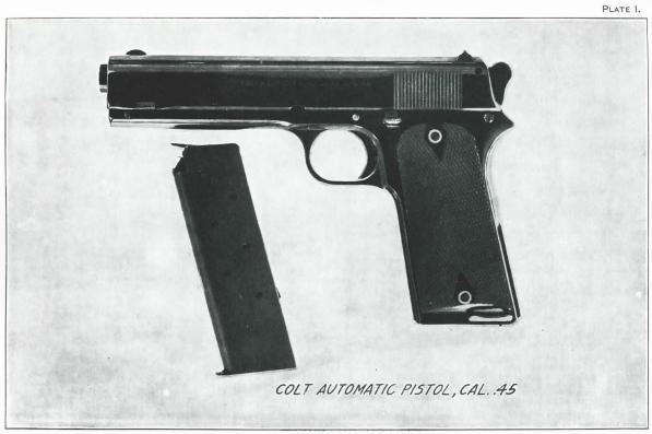 1907 Colt Trials pistol