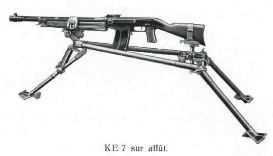 KE-7 light machine gun