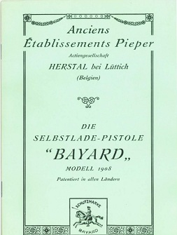 Bergmann Bayard 1908 manual