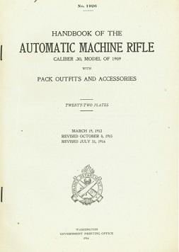M1909 Benet-Mercie manual