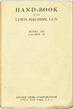 Handbook of the Lewis Machine Gun
