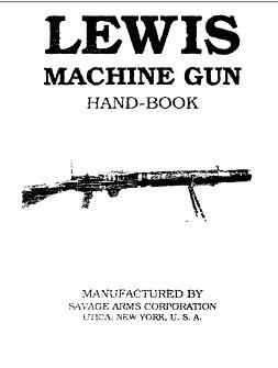 Lewis Machine Gun Hand-Book