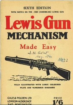 Lewis Gun Mechanism Made Easy