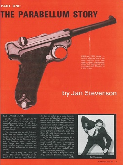 The Parabellum Story - Gun Facts Magazine 1970