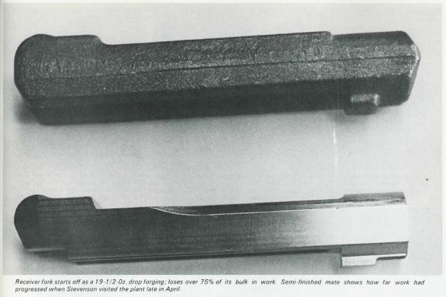 Luger forks and forging