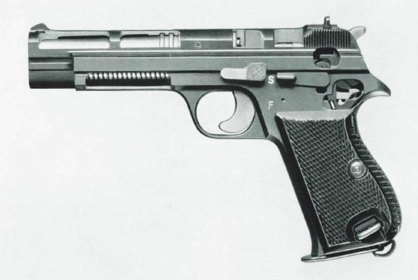 Sig P210 cutaway