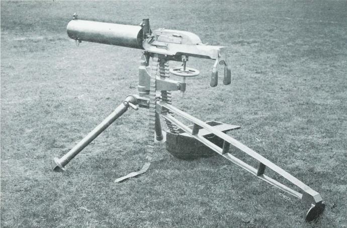 Kynoch Machine Gun, 1907