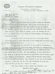Pedersen letter