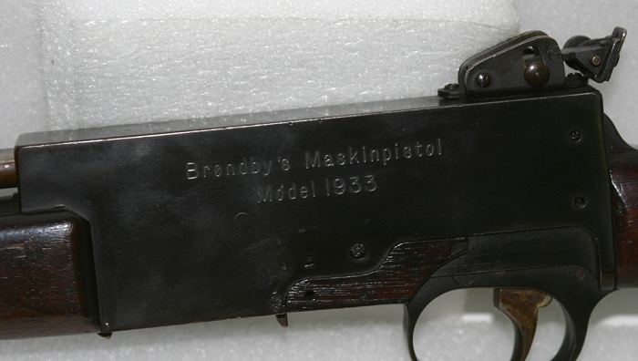 Brondby Maskinpistol Model 1933