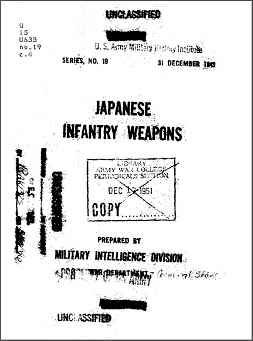 Japanese Infantry Weapons (English, 1943)