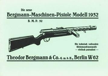 Bergmann MP32 Manual (in German)