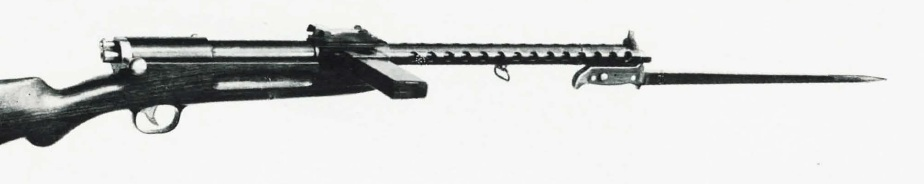 Bergmann MP32 (long 320mm barrel with bayonet)