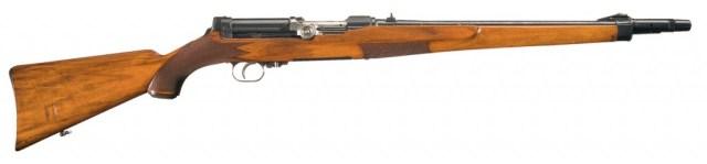 Steyr semiauto rifle