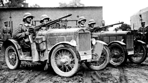 MG13s on Cars