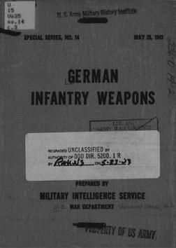 German Infantry Weapons of World War 2 (English, 1943)