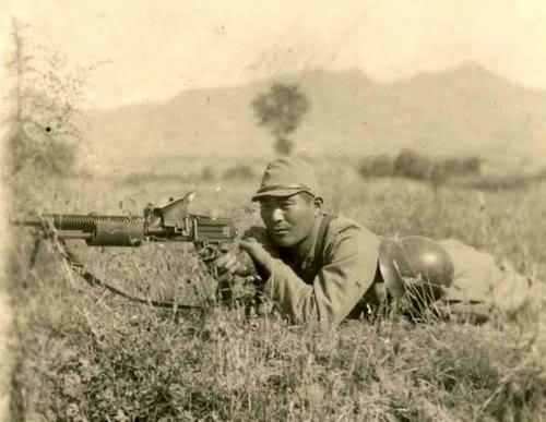 Japanese Type 11 Nambu light machine gun