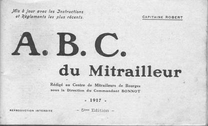 ABC du Mitrailleur (French, 1917)