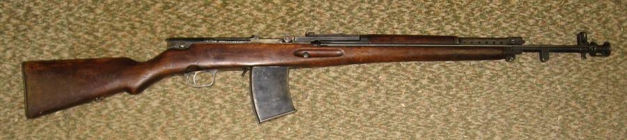 Simonov AVS-36 automatic rifle
