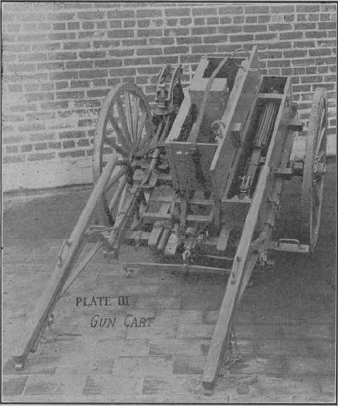 Model 1917 Machine gun cart