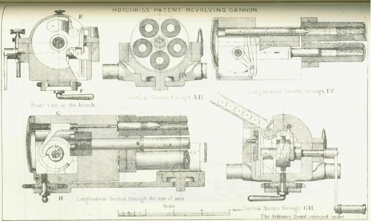 Hotchkiss Revolving Cannon