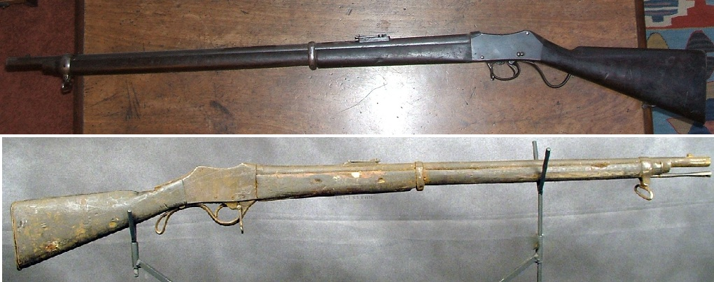 Gahendra and Peabody-Henry trials rifle
