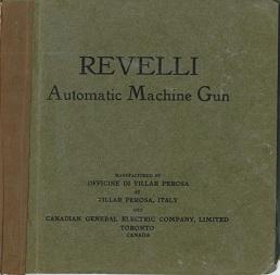 Revelli Automatic Machine Gun (Villar Perosa) manual (English)
