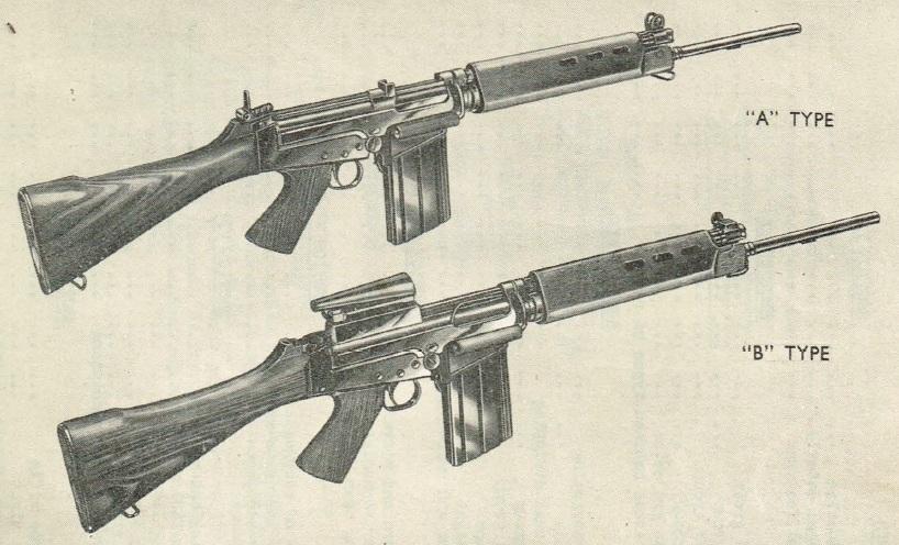 British X8E1 and X8E2 rifles