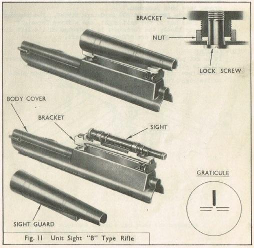 UNIT optical sight on the X8E2 rifle