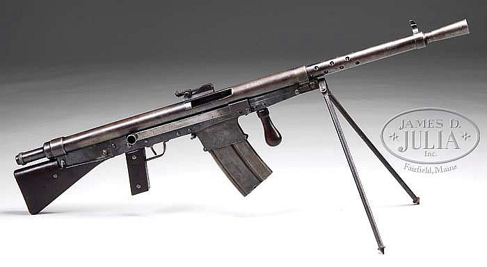 """M1918 CSRG """"Chauchat"""" in .30-06 caliber: arguably the Worst Gun Ever"""