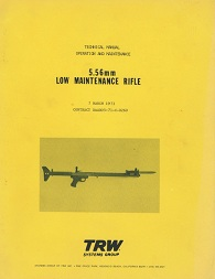 TRW Low Maintenance Rifle 5.56mm Tech Manual (English, 1973)