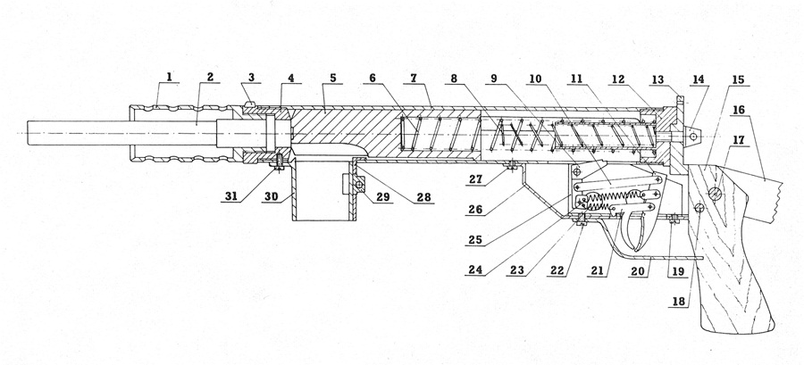 Blyskawica parts diagram