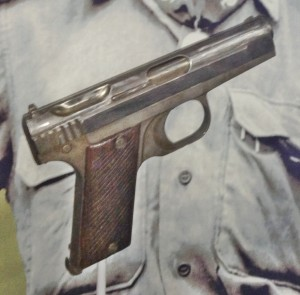 Japanese Type 2 Hamada pistol, preproduction model