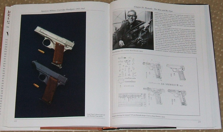 Japanese Military Cartridge Pistols 1893-1945 - Hamada Pistol