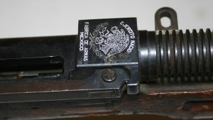 Mexican coat of arms on Mendoza LMG receiver