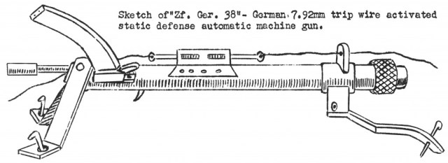 US sketch of a captured ZfG38, incorrectly described as a live-firing gun