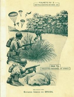 INA 953 (Madsen) manual (Portuguese, 1954)