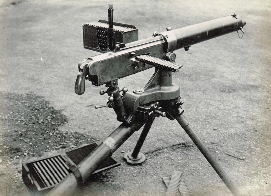 Italian Perino machine gun