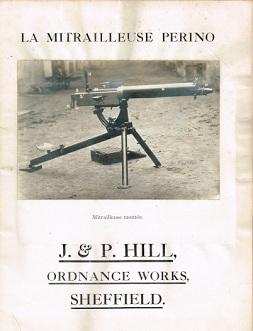 Perino Machine Gun manual (English and French)
