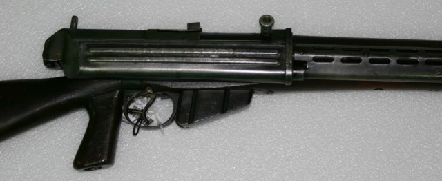 Charlton prototype rifle made by Electrolux in Australia