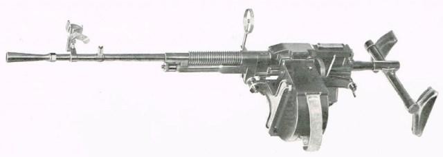 Hotchkiss aerial observer's gun