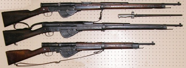 RSC 1917 and 1918 rifles, and a 1918 carbine