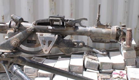 Type 77 Chinese .50 cal machine gun captured in Afghanistan